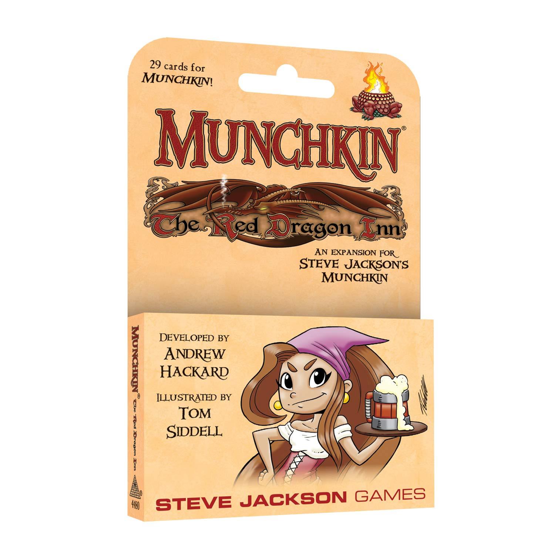 Multi-Colour Steve Jackson Games SJG04480 Munchkin The Red Dragon Inn