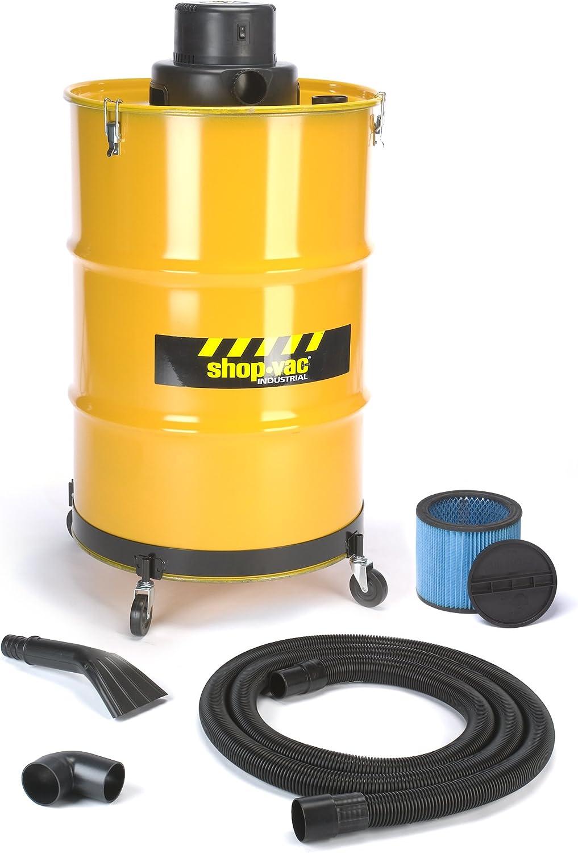 B0013DELRG Shop-Vac 9700510 3.0-Peak Horsepower Industrial Wet/Dry Vacuum 55-Gallon Heavy Duty Industrial Vacuum with Metal Tank Cartridge Filter & Multifunction Accessories 71YxWQ10CYL.SL1500_