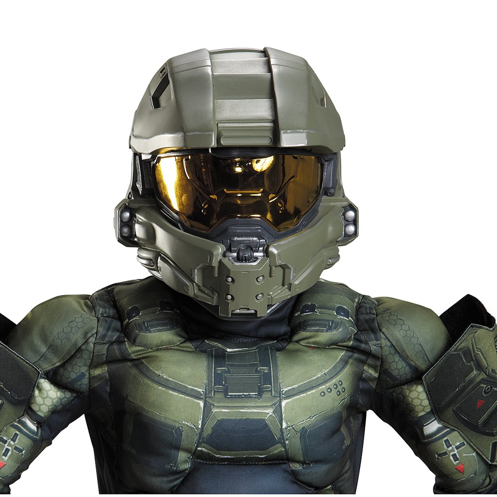sc 1 st  Amazon.ca & Disguise 89995 Master Chief Child Full Helmet: Amazon.ca: Toys u0026 Games