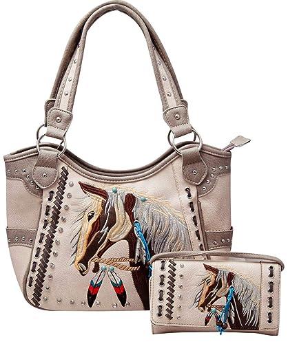 Amazon.com: HW Collection - Bolso de mano y cartera de ...