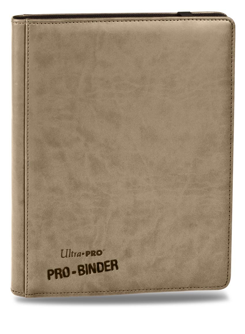 Premium PRO-BINDER 9-Pocket Cards, Tan Flat River Group UP 84192