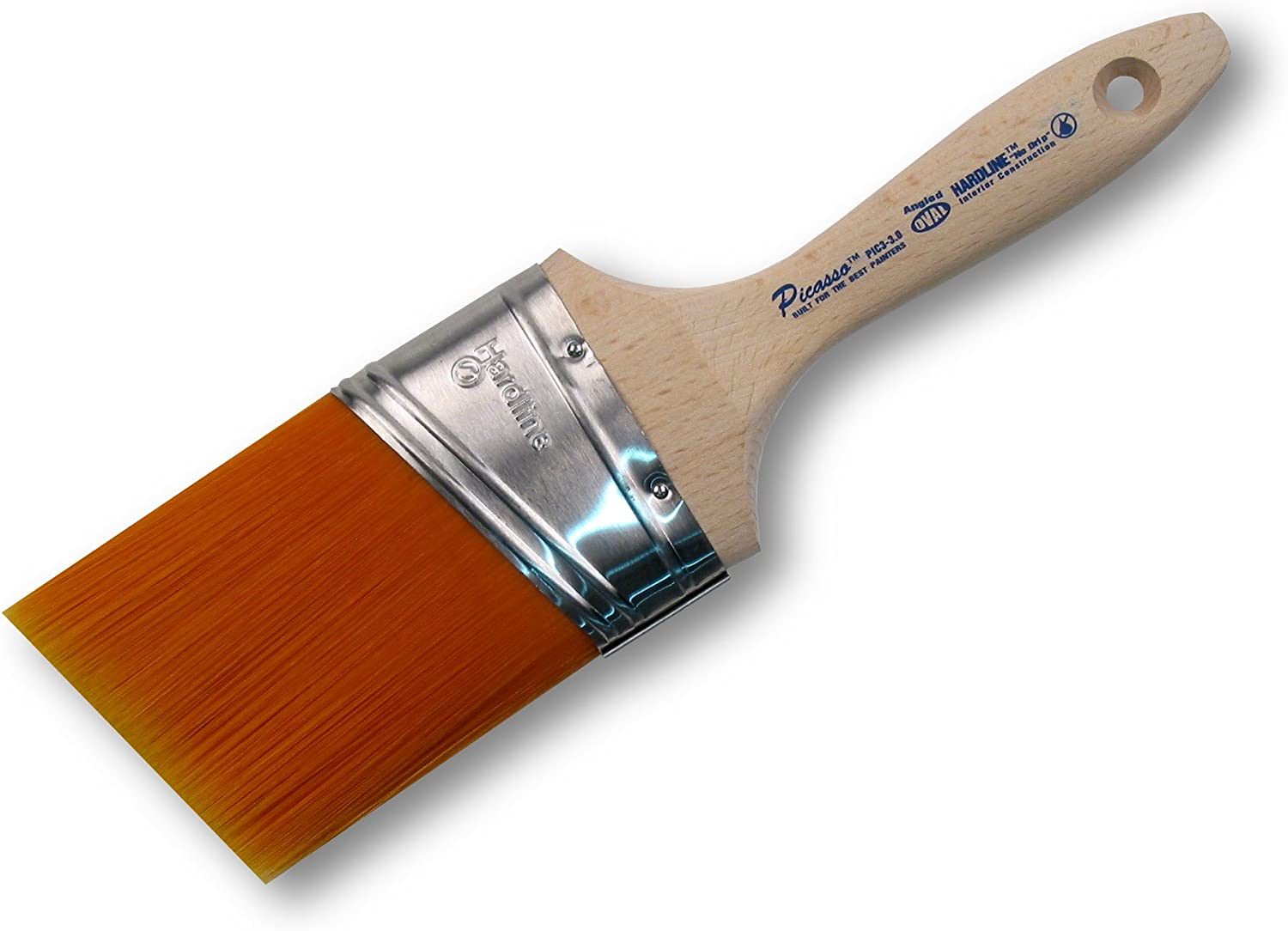 """3/"""" Proform PIC3-3.0 Picasso Oval Angled Paint Brush"""