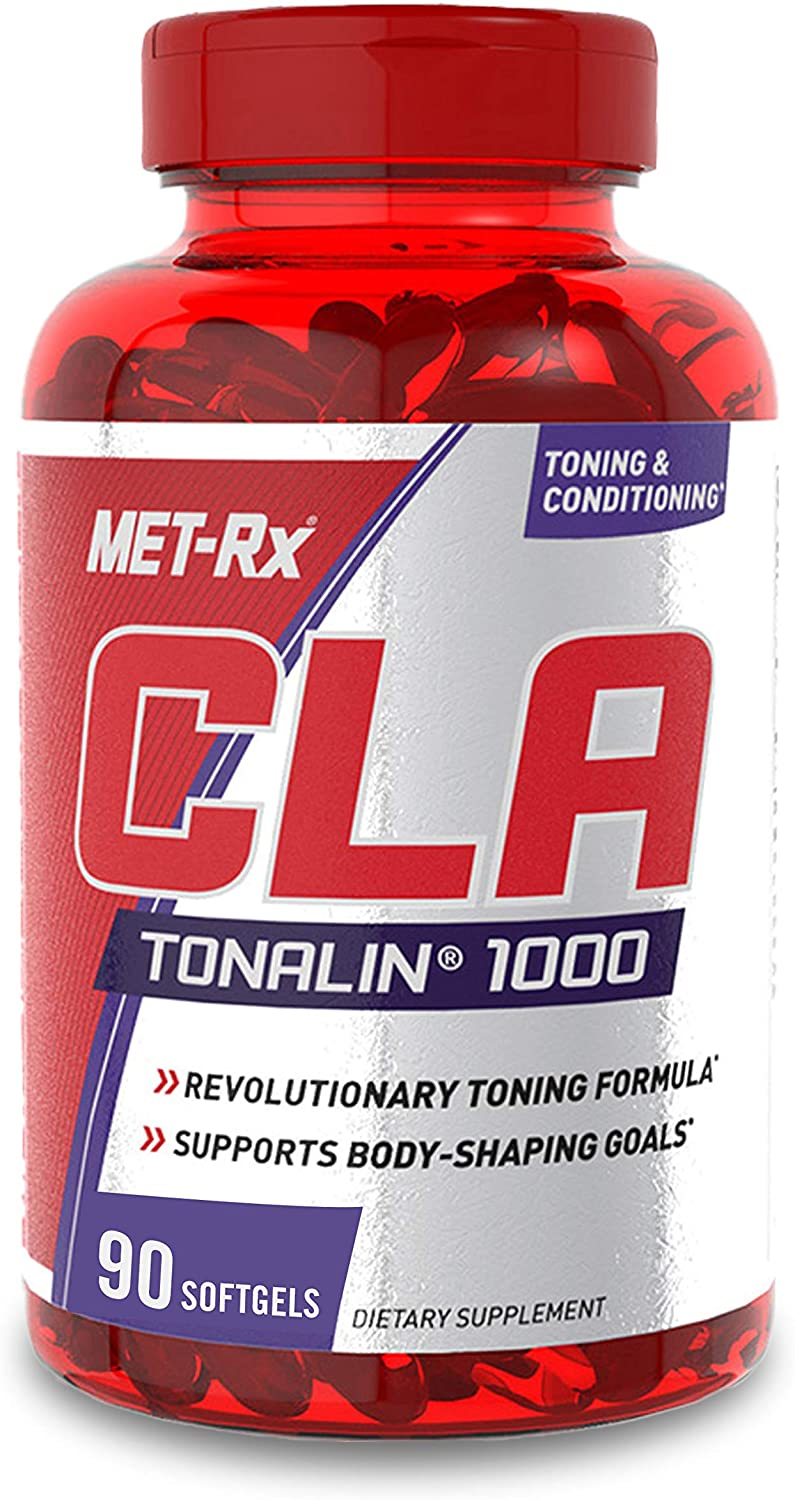 MET-Rx CLA Tonalin 1000 Supplement, Supports Weight Loss and Toning, 90 Softgels: Health & Personal Care