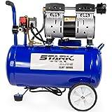Stark Ultra Quiet & Oil-Free 1.0 HP Air Compressor w/ 6.3 Gallon Steel Tank
