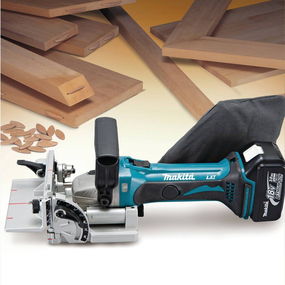 Makita XJP03Z 18V LXT Lithium-Ion Cordless Plate Joiner by Makita (Image #5)