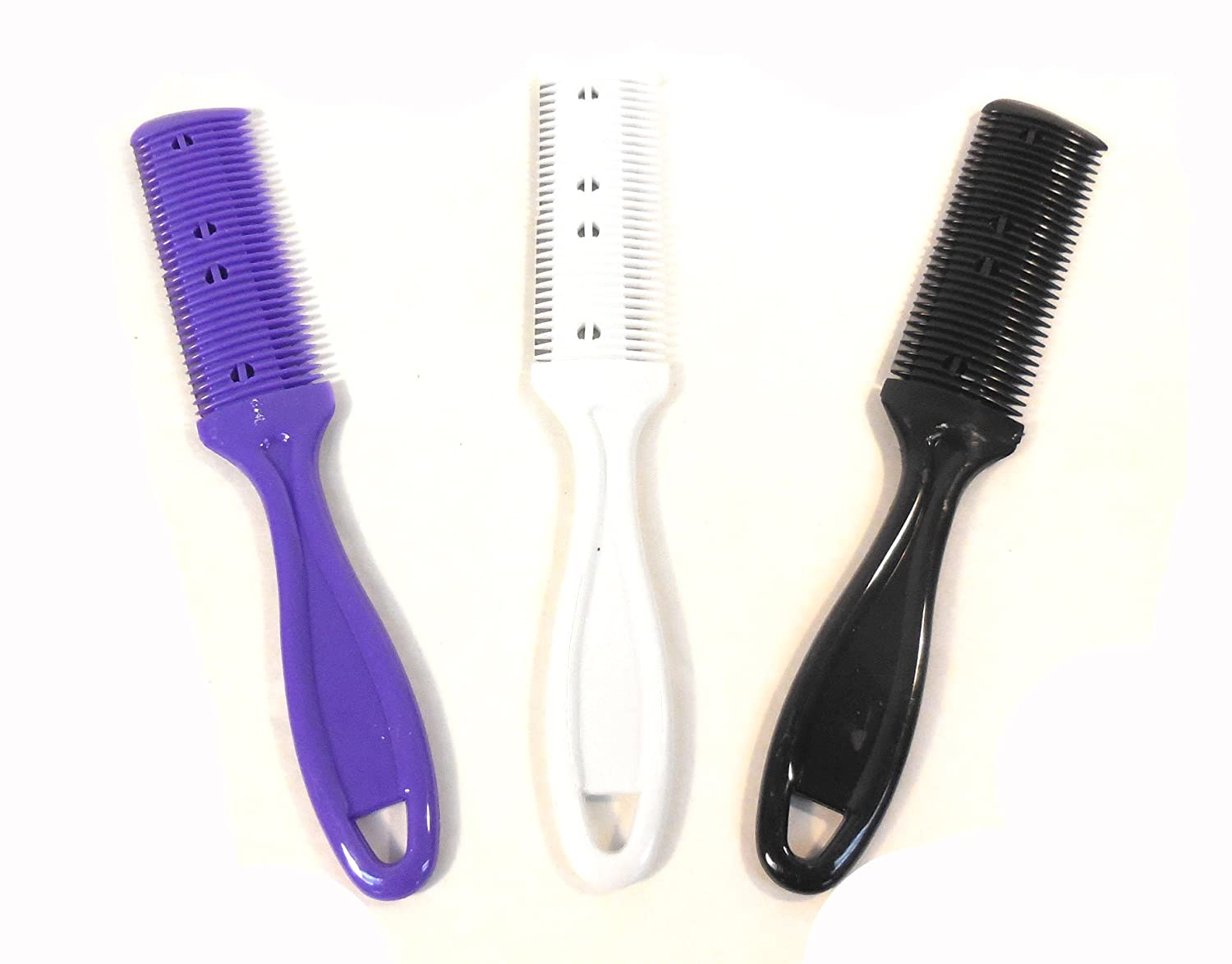 CALA Professional Quality Razor Hair Comb (Model: 70-725B), Assorted Colors Brittny' s