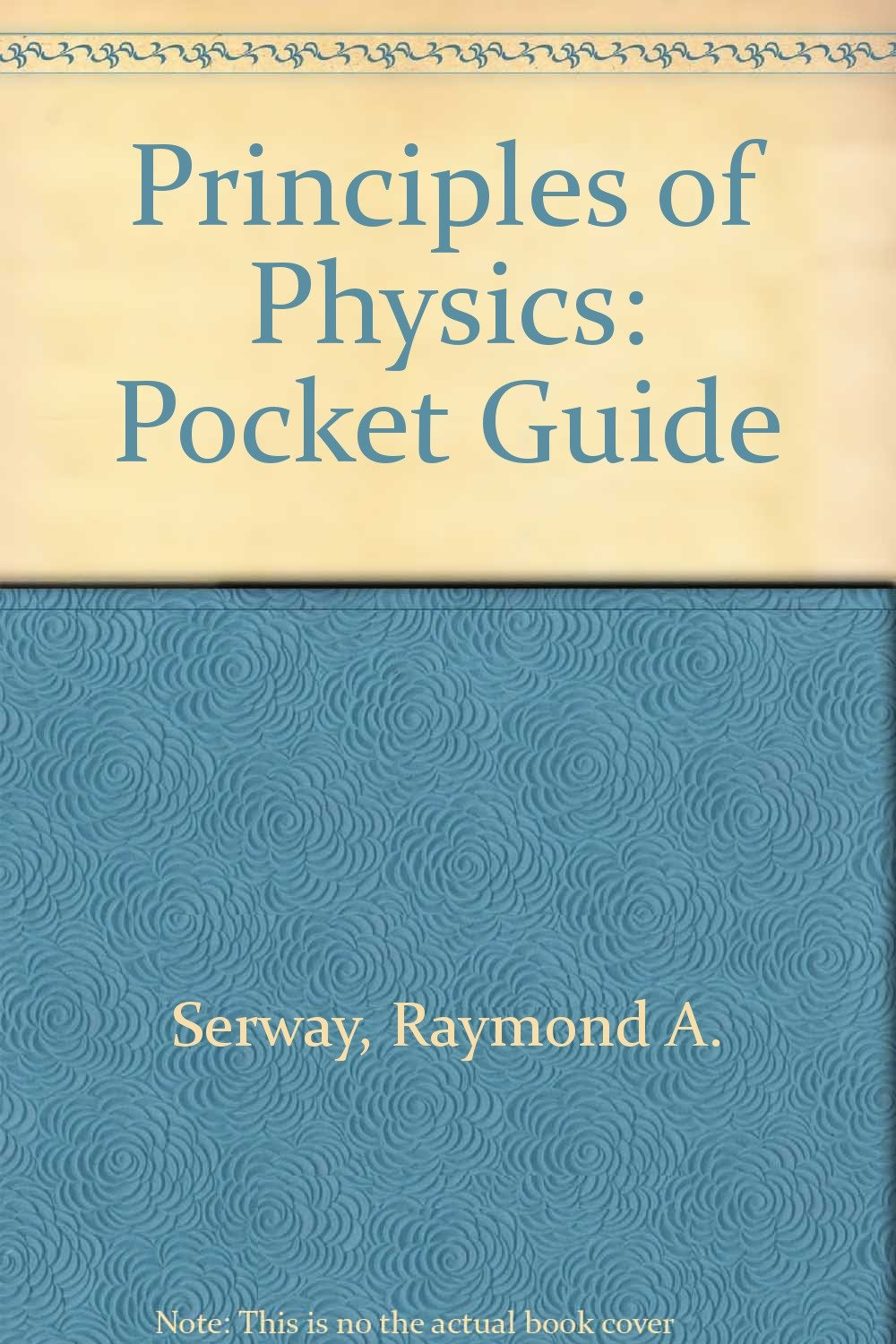 Principles of Physics: Pocket Guide: Raymond A. Serway ...