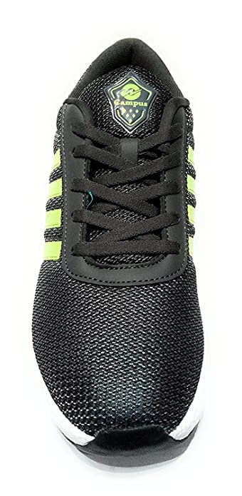 772a3172f0f7 Campus BATTLE X-11 Men s Grey Green Mesh Running Shoes - 7  Buy ...
