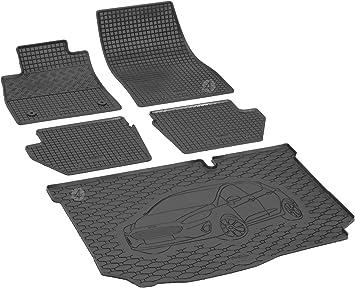 Passgenaue Kofferraumwanne Und Gummifußmatten Geeignet Für Ford Fiesta Hatchback Ab 2017 Autoschoner Monteur Auto