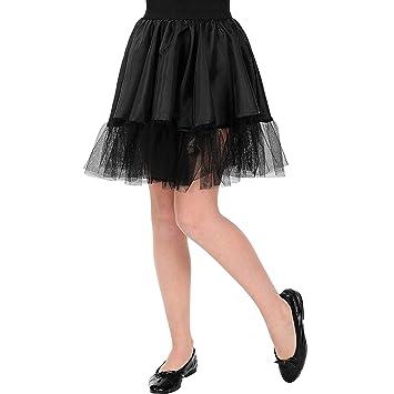 WIDMANN Srl falda termopar negra de niña Elementos de ropa ...