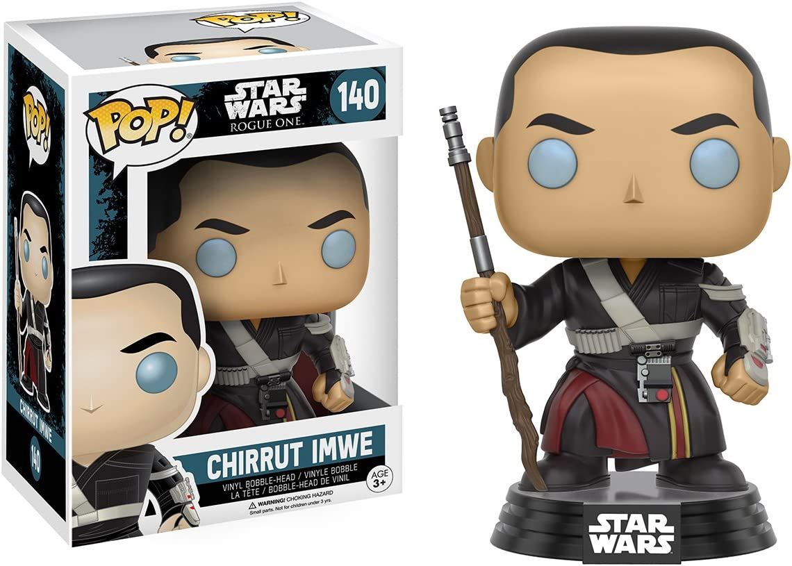 Star Wars Rogue One Chirrut Imwe Funko Pop Vinyl Bobble-head 140