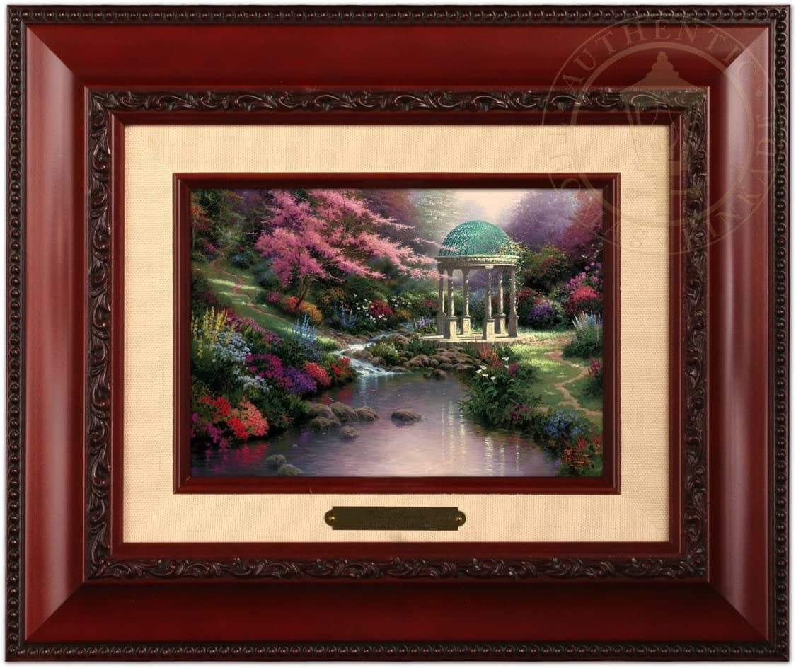 Thomas Kinkade Pools of Serenity Brushwork Brandy Frame