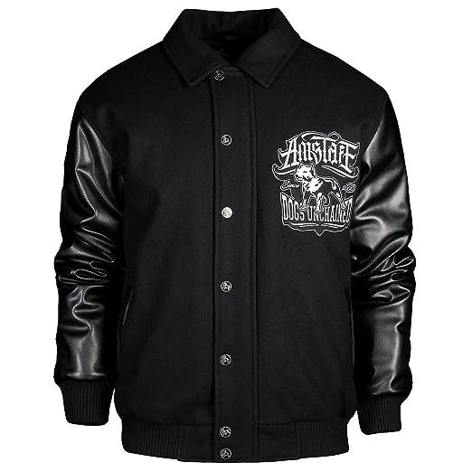 Amstaff Conex Winterjacke 2 schwarz//weiß Männer Jacke Größe S M L XL XXL 3XL