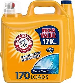 product image for Arm & Hammer Clean Burst Liquid Laundry Detergent, 170 Loads