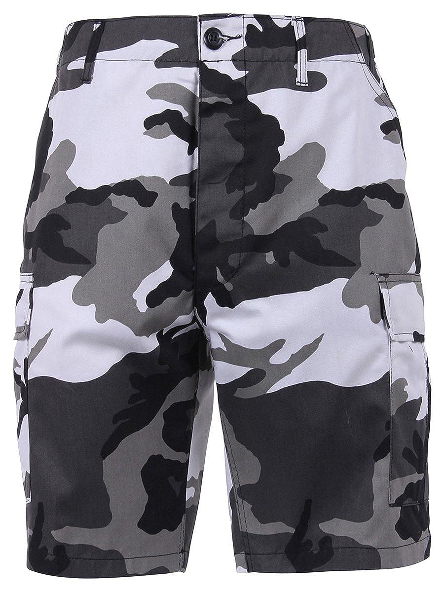 Rothco Camo BDU Shorts - Midnite Digital Camo 65216