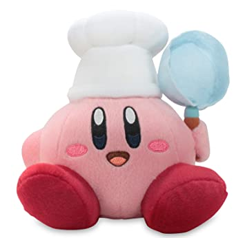 "Little Buddy oficial Kirby aventura Cook Kirby 7 ""peluche"