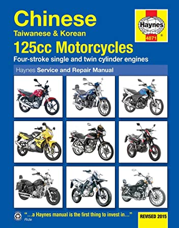 haynes manual chinese taiwanese and korean 125 cc motorcycles rh amazon co uk Fym Scooters Fym Logo