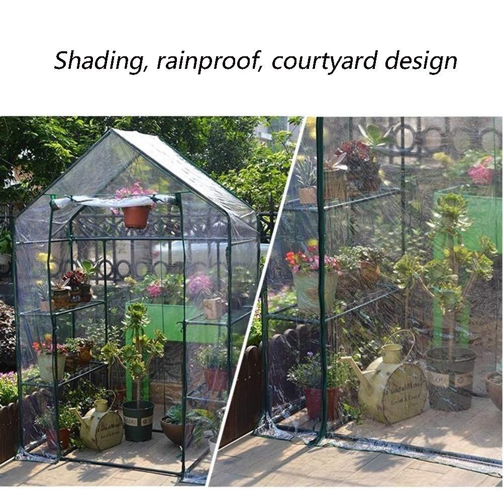 JIANFEI Copertura Mobili Giardino Impermeabile Rete Parasole Serre Antivento Prevenzione degli Insetti Anti-Sole, 3 Colorei, 2 Dimensioni Personalizzabile