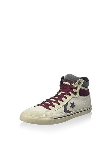 Converse Sneaker Alta PRO Blaze Hi LeatherSuede Bianco