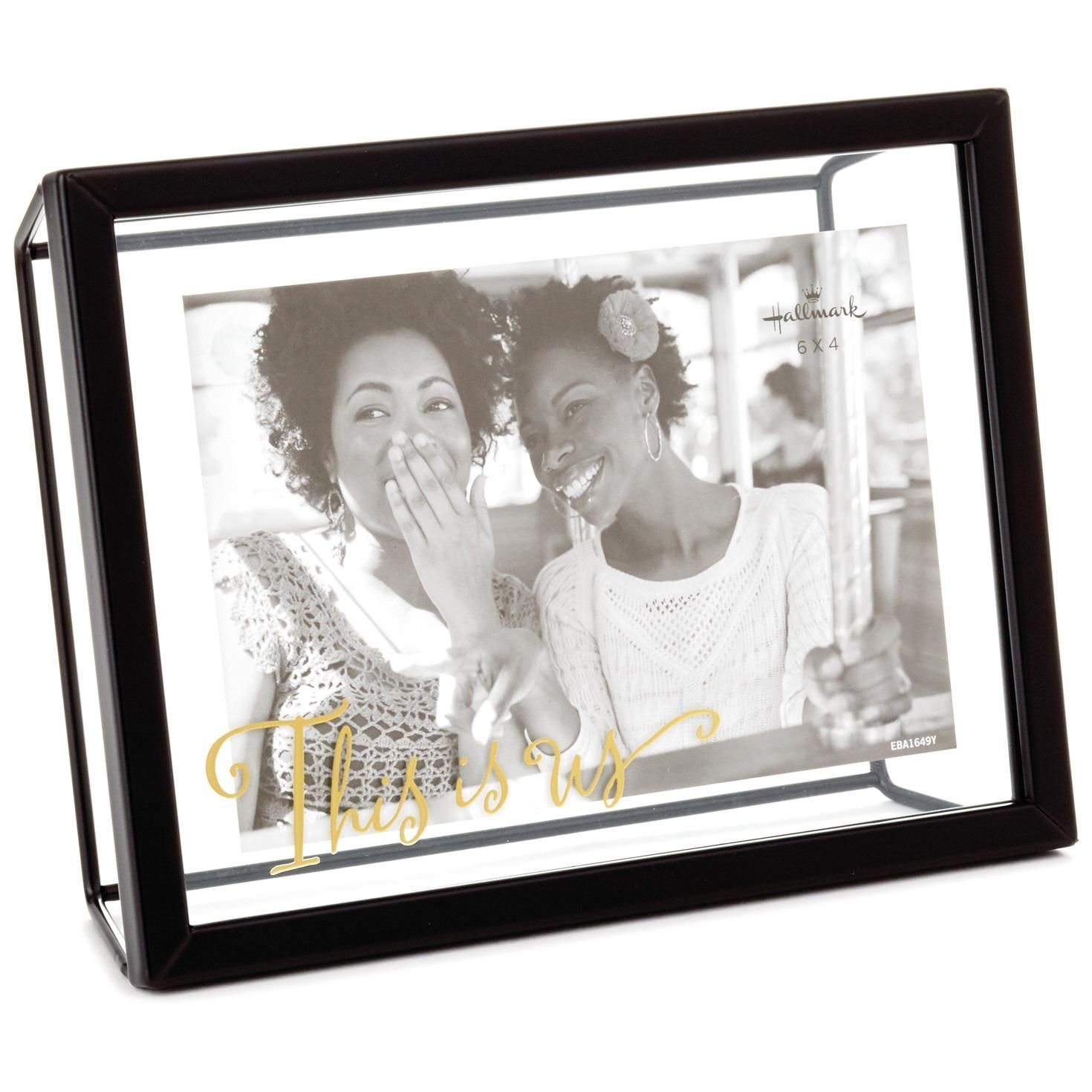 Amazoncom Hallmark This Is Us Glass And Metal Picture Frame 4x6