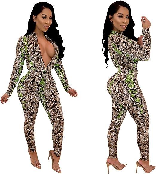 Fubotevic Womens Floral Print Mesh Lace Long Sleeve 2 Pcs Club Party Jumpsuit Romper
