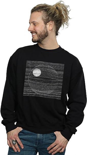 Star Wars Hombre Death Star Lines Camisa De Entrenamiento Negro XXX-Large: Amazon.es: Ropa y accesorios