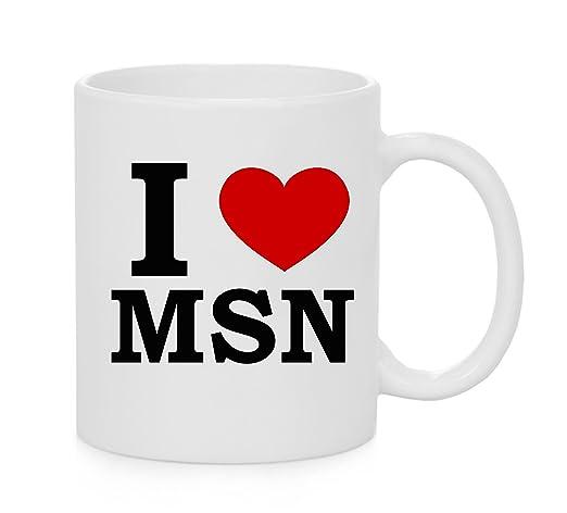 I Heart Msn Love Official Mug Amazon Home Kitchen