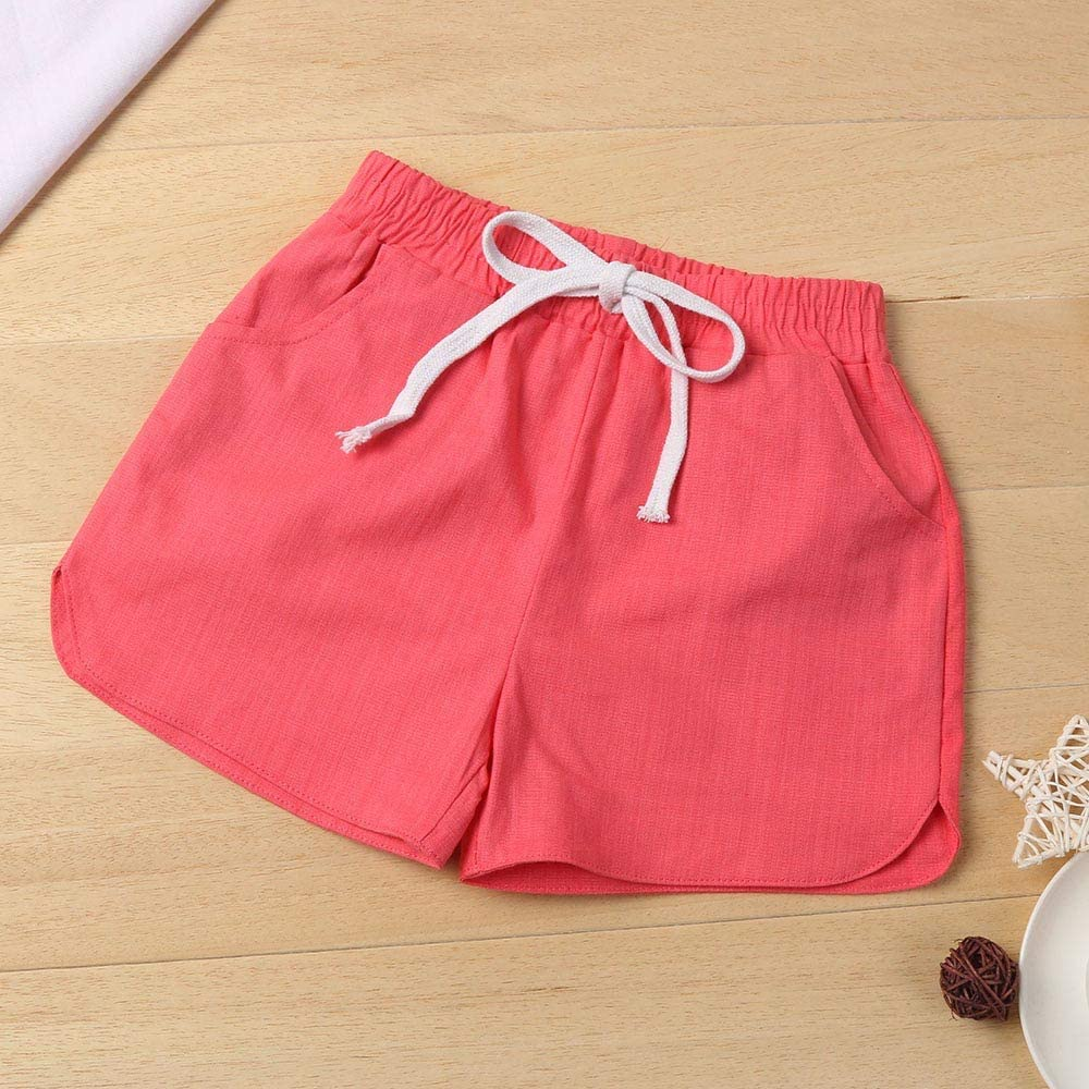 Fartido Outfit Summer Sunsuit Baby Girls Short Sleeve Watermelon Tops Shorts Set Fashion Two Piece