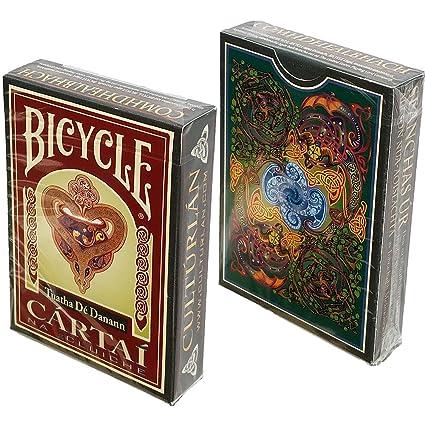 Bicycle Gaelic Celtic Myth Playing Cards