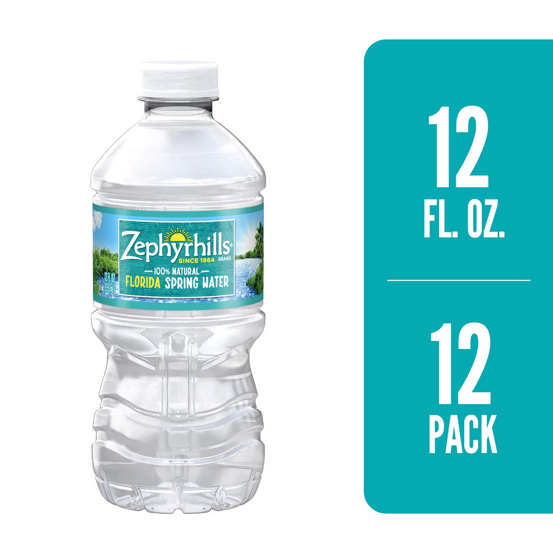 Zephyrhills Spring Water 12 oz  12 pk