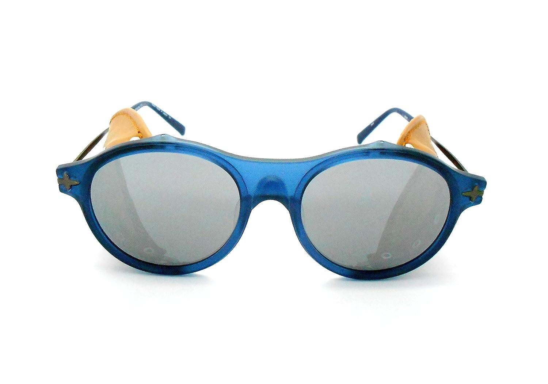 Matsuda M1013 - Gafas de sol con lentes de espejo y ...