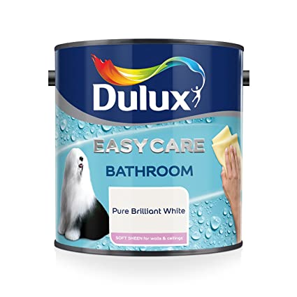 Dulux Easycare Bathroom Soft Sheen Emulsion Paint For Walls And