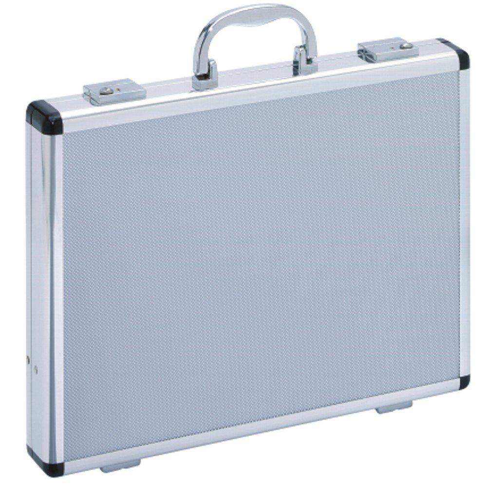 Attaché-Case Valise Mallette Aluminium Argent Extra Fine Mince 49000