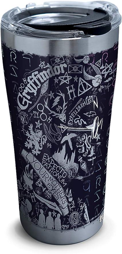 Harry Potter Travel Mug Spells /& Charms Thermal