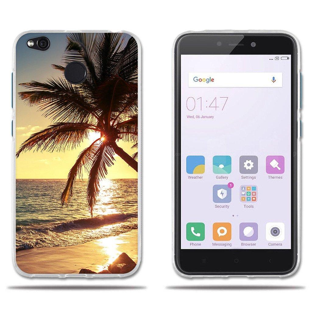 Funda Xiaomi Redmi 4X-Fubaoda-3D Realzar, Hermoso Dibujo de Vidriera con Dise?os Vegetales, Gel de Silicona TPU, Amortigua los Golpes, Carcasa Protectora para Xiaomi Redmi 4X (5.0') Carcasa Protectora para Xiaomi Redmi 4X (5.0) SB-1001