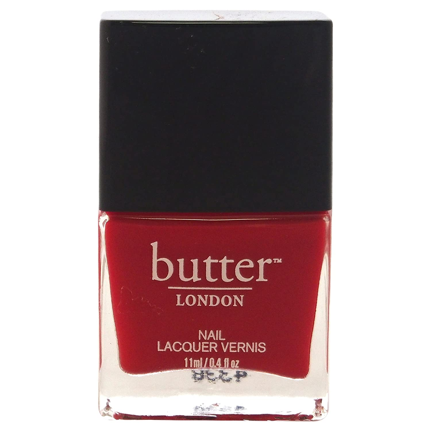 Amazon.com: butter LONDON Nail Lacquer, Red Shades, Come To Bed Red ...