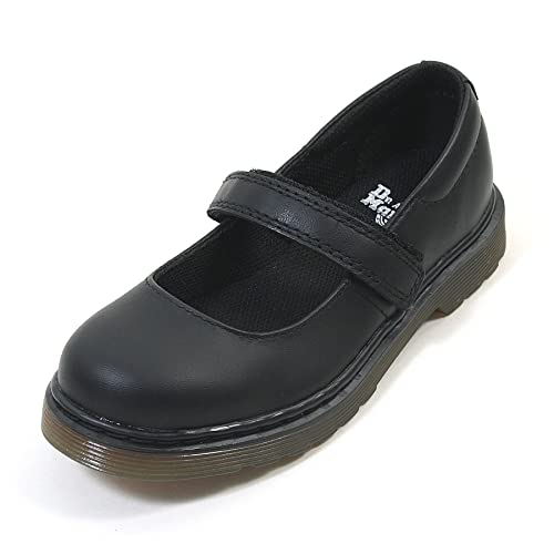 Dr Martens - Maccy Mary Jane Bar Shoes, Black, 3 UK Youth