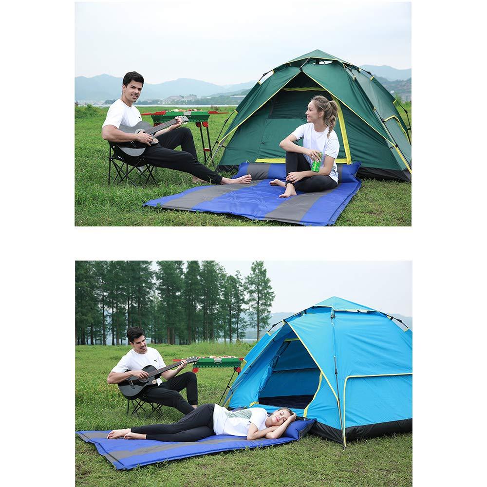 Doppelte mit automatischem aufblasbaren Kissen-Kissen, Kissen-Kissen, Kissen-Kissen, Camping-Schlafunterlage aus verdicktem Zelt, spritzwassergeschützte Outdoor-Schlafmatte für Freizeit B07P324XS4 Selbstaufblasbare Matratzen Meistverkaufte weltweit b182a6