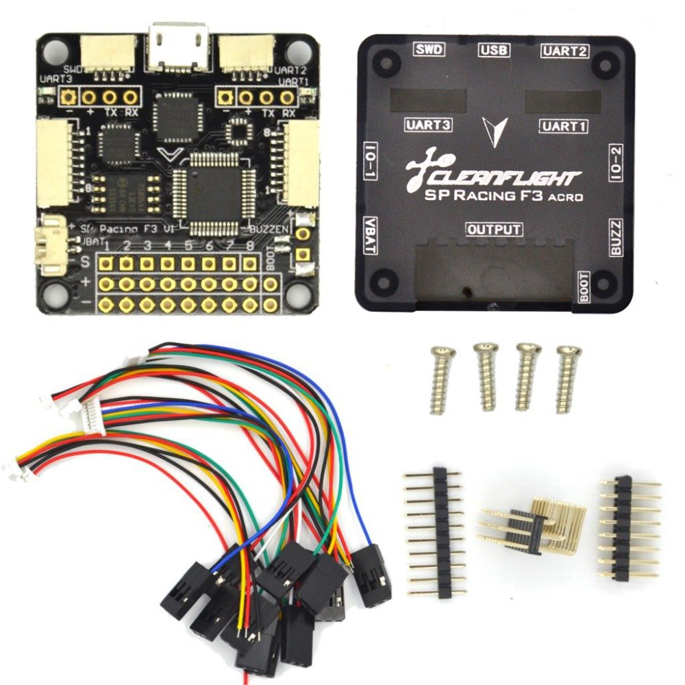 Standard 6DOF Laliva Sp Pro Racing F3 Flight Controller Board Cleaflight 6dof 10dof Deluxe with Brano and for dron quadrocopter Quadcopter Helicopter  (color  Standard 6DOF)