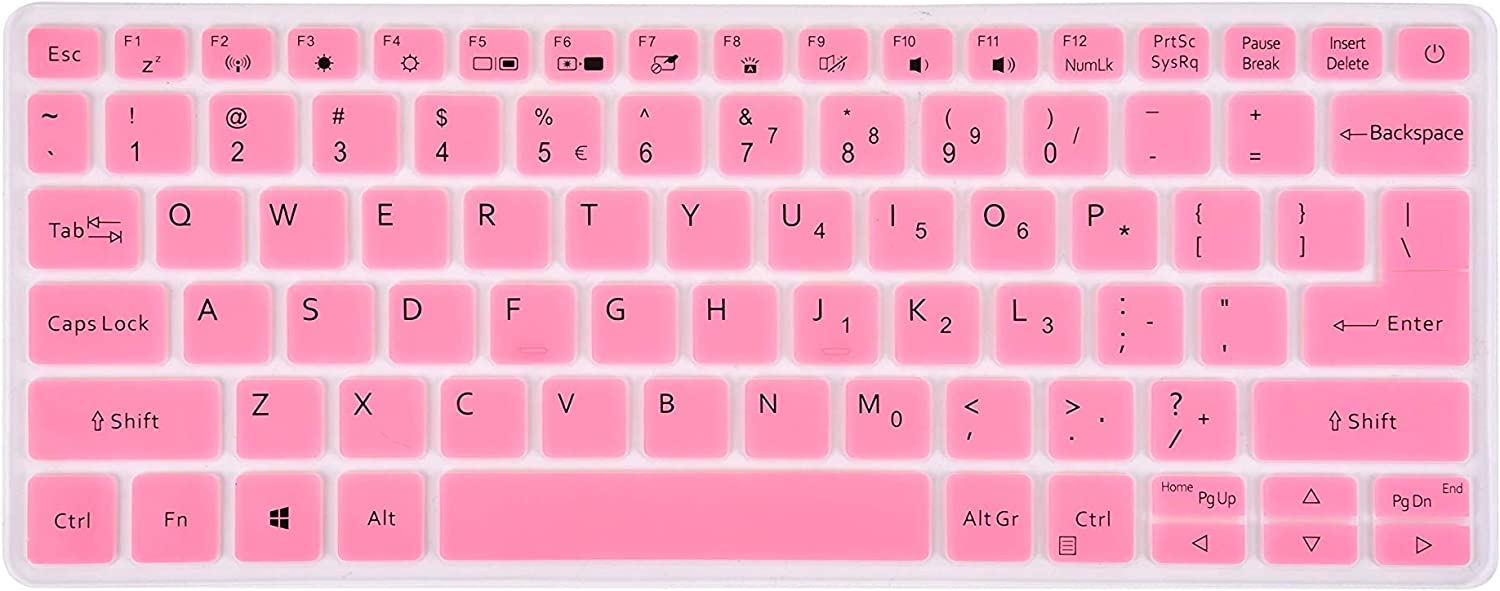 LEZE - Ultra Thin Keyboard Cover Compatible with Acer Swift 3 SF313-52 Thin & Light Laptop - Pink