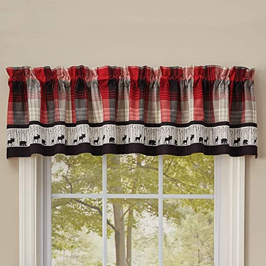 My Country Home Lined Border Valance Park Designs