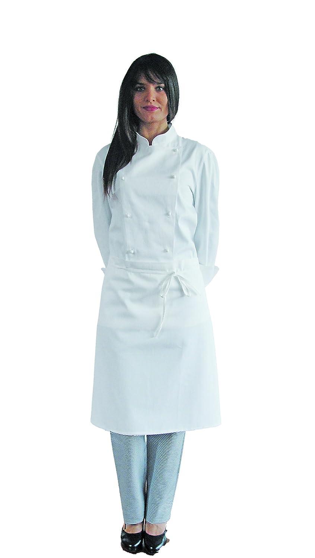 SIGGI HORECA Grembiule Chef unisex senza pettorina (PACK 3 PEZZI)