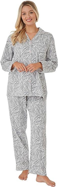 iClosam Pijama Hombre Invierno Algod/ón Set,Pijamas con Botones Casual Casual Ropa de Dormir Suave y C/ómodo Talla S-XXL