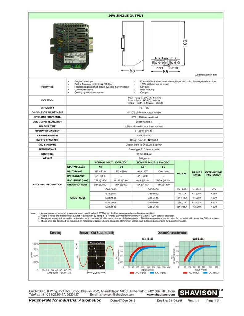 Shavison Smps G31 24 12 I P 230vac O 12vdc 2a Cctv Power Yy 250 Wiring Diagram Supply Industrial Scientific