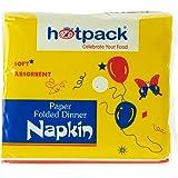 Hotpack Paper Folded Dinner Napkin - 30 x 30 cm - 100 Pcs