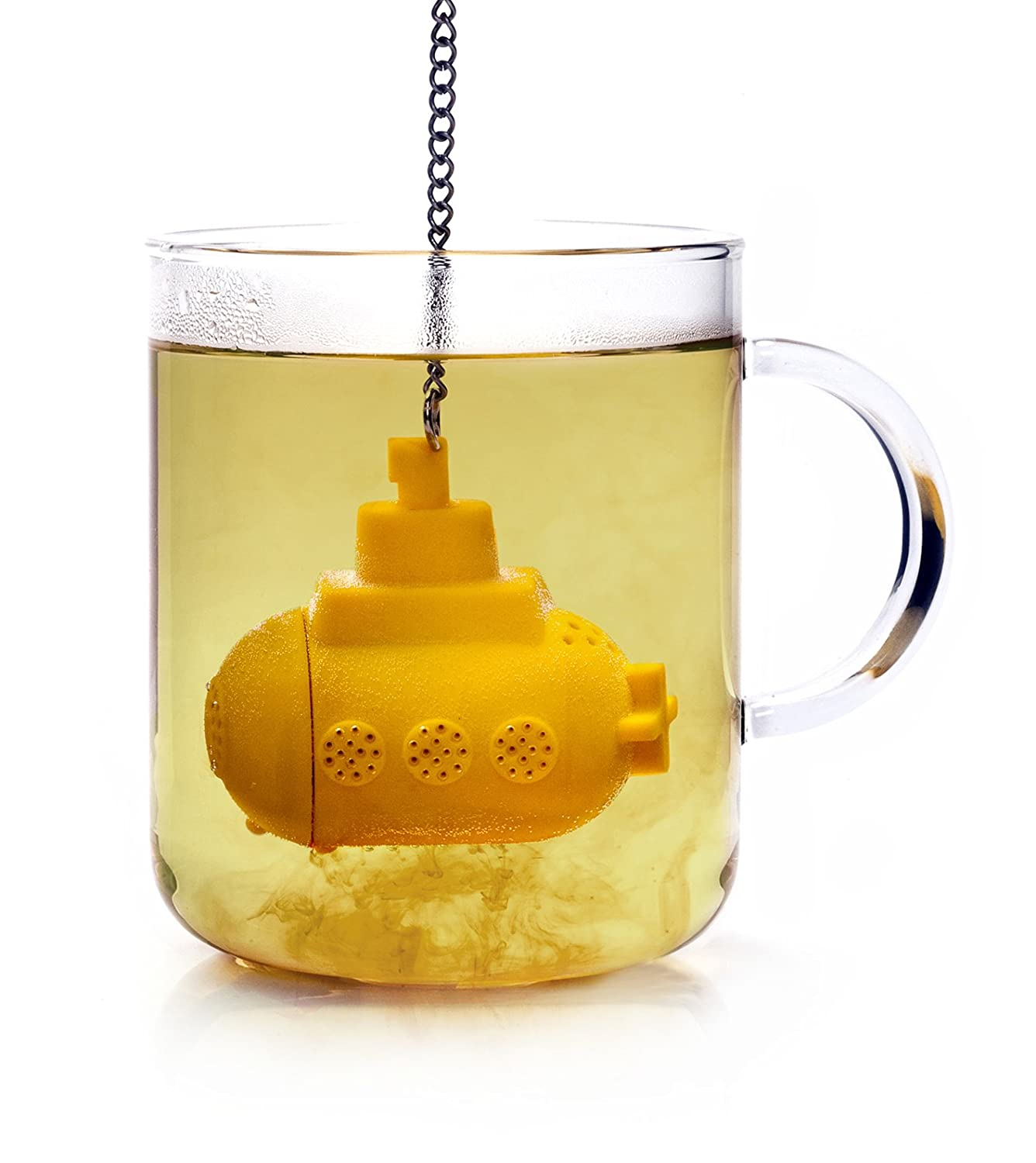 Time Roaming High Quality Silicone Yellow Submarine Tea Infuser luc Toys-073