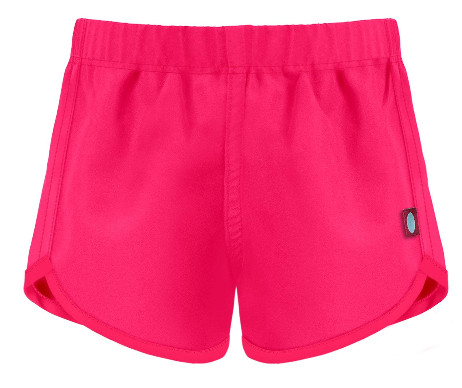 City Threads Girls' Swimming Suit Bottom Board Short, Hot Pink, 5