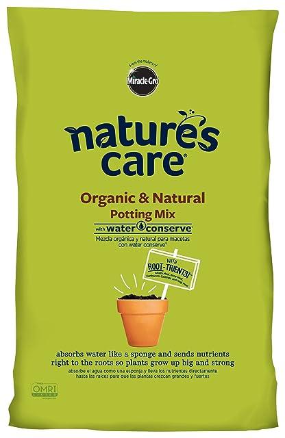 Miracle-Gro Nature's Care Organic and Natural Potting Mix
