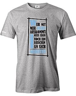 Sabuy T Shirt Bei Der Arbeit Gebe Ich Immer 100 Lustiges Shirt