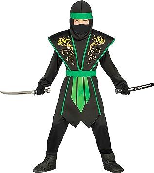 Magicoo Ninja Disfraz Infantil de Halloween Verde Negro con ...